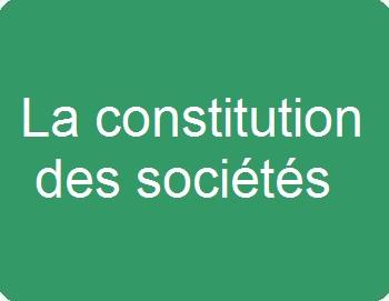 La constitution des sociétés commerciales