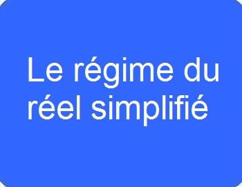 Le régime du réel simplifié