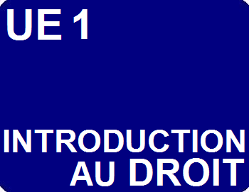 UE 1 : Introduction au droit