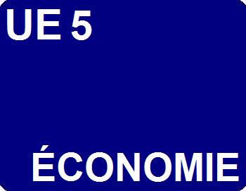 UE 5 : Économie