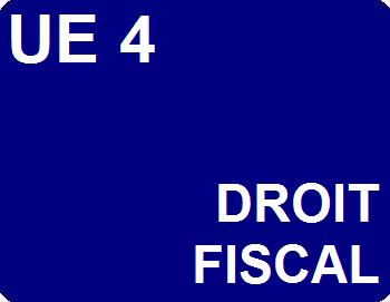 UE 4 : Droit fiscal