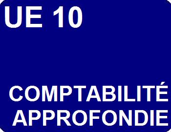UE 10 : Comptabilité approfondie