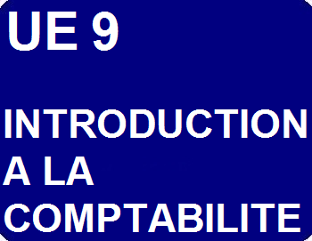UE 9 : Introduction à la comptabilité