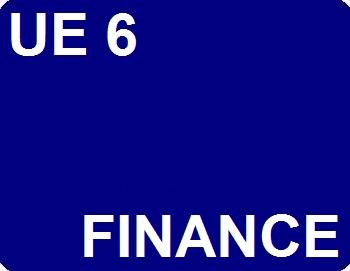 UE 6 : Finance