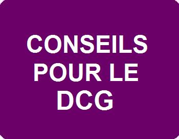 Conseils pour le DCG