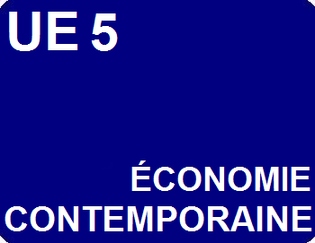 UE 5 : Économie contemporaine