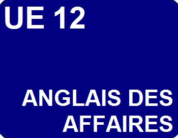 UE 12 : Anglais des affaires