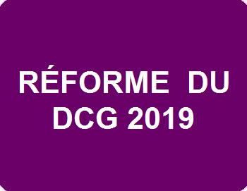 Réforme du DCG 2019