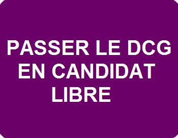 DCG en candidat libre